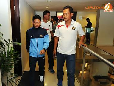 Peran itu sukses dijalani pada dua turnamen Piala AFF U-19 dan Pra Piala Asia U-19, tahun lalu (Liputan6.com/Helmi Fithriansyah).
