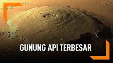 Olympus Mons, Gunung Api Terbesar di Tata Surya