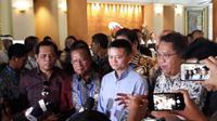 Pertemuan Steering Committee e-Commerce Indonesia dengan Jack Ma, selaku Penasihat e-Commerce Indonesia dan tim di sela-sela World Bank dan IMF Annual Meeting di Bali. Dok: KBRI Beijing