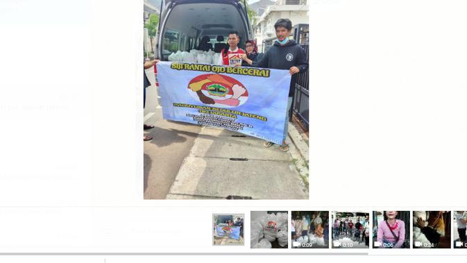 Penyaluran Bansos Pemerintah Jateng Untuk Rantau DKI