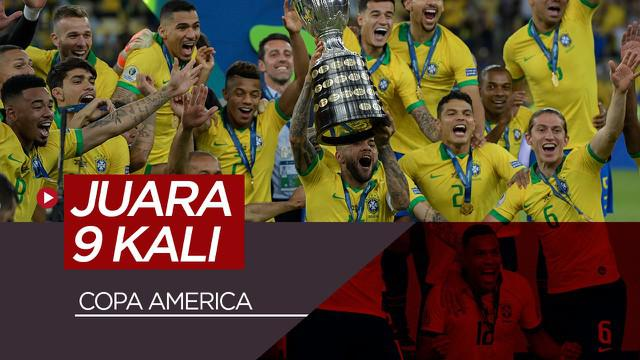 Berita Video Brasil Juara Copa America 2019 Usai Bungkam Peru 3-1