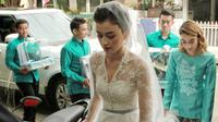 Pernikahan Kimberly Rider dan Edward Akbar (Adrian Putra/bintang.com)