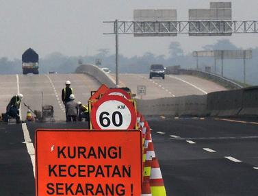 Persiapan Jalan Tol Trans Jawa Jelang Arus Mudik 2019