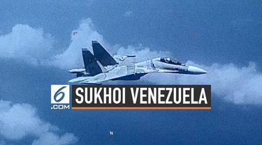 Amerika Serikat menuduh pesawat Sukhoi Venezuela membayang-bayangi pesawatnya di atas laut Karibia. Venezuela menganggap pesawat AS telah masuk ke wilayah udaranya.