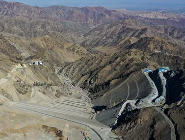 Pembangunan Stasiun Pembangkit Listrik Tenaga Pompa Pertama di Xinjiang