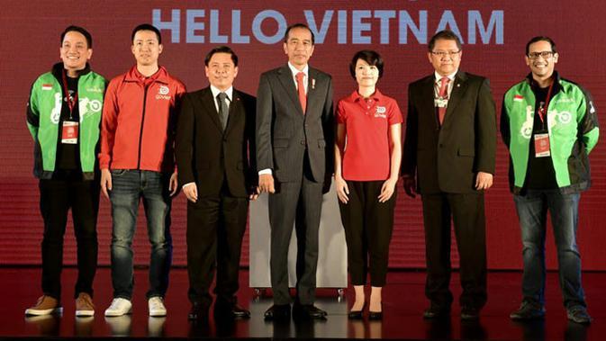 Presiden Jokowi hadiri acara peresmian Go-Viet. (Doc: Istimewa)