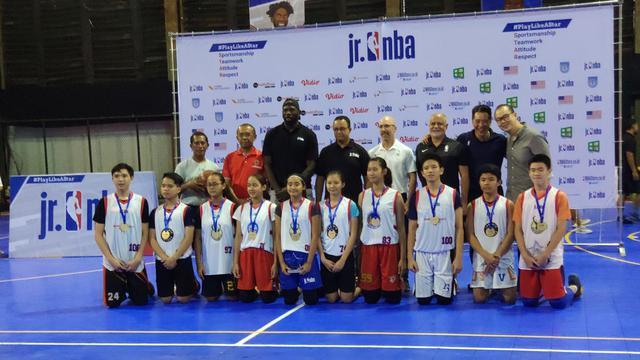 10 Anak Terpilih Sebagai Jr NBA Indonesia All-Star 2019