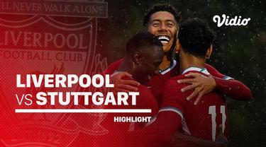 Berita video highlights laga pramusim antara Liverpool melawan Stuttgart yang berakhir dengan skor 3-0, Sabtu (22/8/2020) malam hari WIB.
