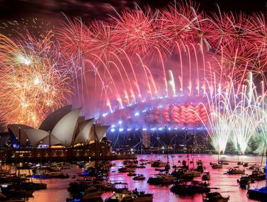Semarak Perayaan Tahun Baru di Berbagai Negara