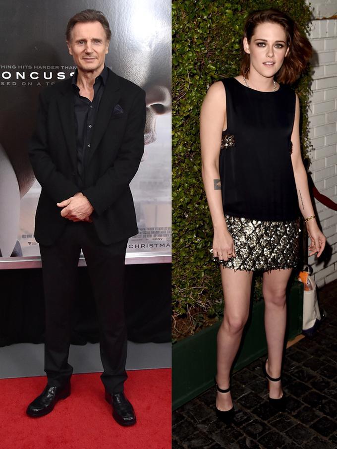 Pacar Baru Liam Neeson Adalah Kristen Stewart? - News