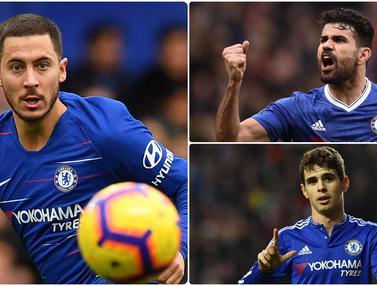 Eden Hazard dan 5 Penjualan Pemain Termahal oleh Chelsea