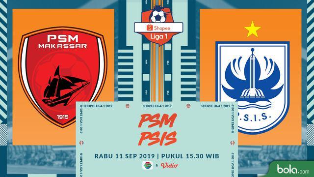 PSM Makassar Vs PSIS Semarang