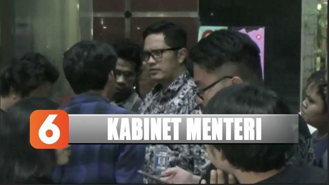 KPK menyatakan sejumlah nama calon menteri yang dipanggil Presiden Jokowi, ada yang pernah diperiksa dalam kasus korupsi.