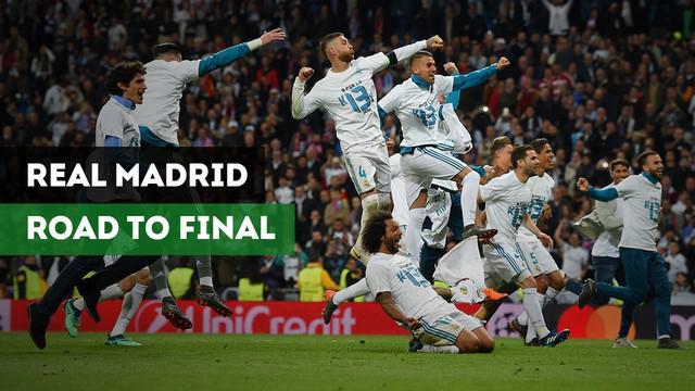 Berita Video Jelang Real Madrid Vs Liverpool, Inilah Gol Menuju Final Los Galacticos