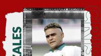 Cristian Gonzales. (Bola.com/Dody Iryawan)