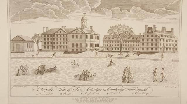 Harvard University pada tahun 1767 (Wikipedia/Public Domain)
