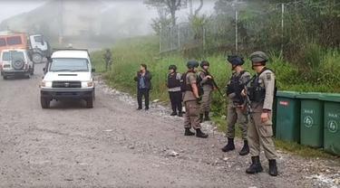 Satuan tugas di Tembagapura, Kabupaten Mimika Papua