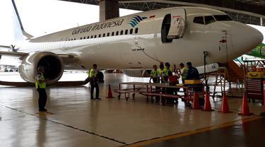Kemenhub Sidak Boeing 737 Max 8 di Bandara Soetta
