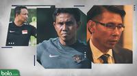 Trivia Daftar Pelatih Lokal di Piala AFF 2018 (Bola.com/Adreanus Titus)
