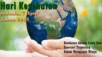 Hari Kesehatan Dunia diperingati setiap tahun didunia pada 7 April.