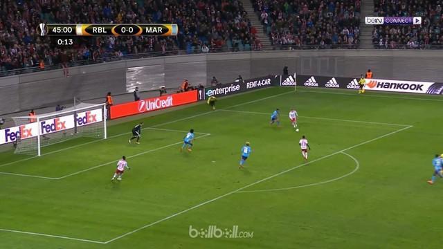 Timo Werner memberikan kemenangan 1-0 bagi tuan rumah RB Leipzig saat menjamu Marseille di leg pertama perempat final Liga Europa....