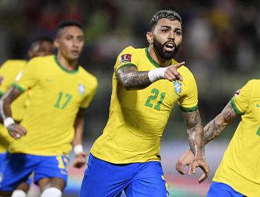 Foto: Bungkam Venezuela, Brasil Masih Sempurna di Kualifikasi Piala Dunia 2022