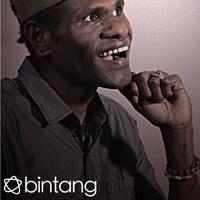 Celo 'Epen Cupen'. (Andy Masela/Bintang.com)