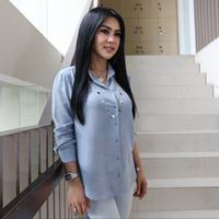Artis Syahrini saat media visit ke kantor Liputan6.com di Jakarta, Selasa (3/7). (Liputan6.com/Arya Manggala)