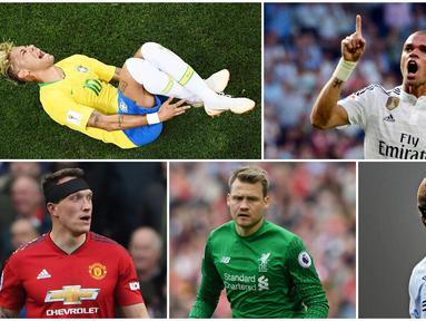 Aksi para pemain sepak bola mulai dari diving hingga selebrasi berlebihan akan membuat netizen bereaksi, berikut ini tujuh pemain yang sering dijadikan meme untuk bahan lelucon.