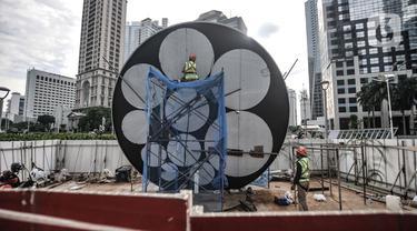 Menengok Pembangunan Tugu Sepeda di Ibu Kota