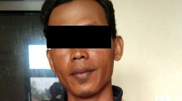 BN (35), terduga pelaku kasus cabai dicat merah di Banyumas, Jawa Tengah asal Temanggung