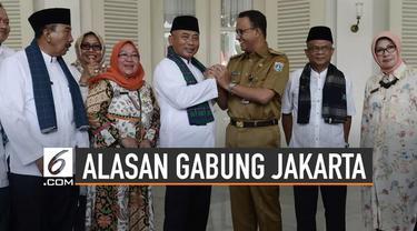 Wali Kota Bekasi, Rahmat Effendi mengungkap alasan Bekasi ingin gabung DKI Jakarta.