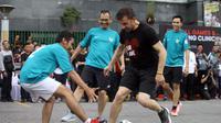 Legenda sepak bola Italia, Alessandro Del Piero. (Reza Efendi)