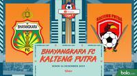 Shopee Liga 1 - Bhayangkara FC Vs Kalteng Putra (Bola.com/Adreanus Titus)