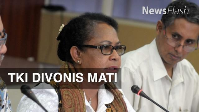 Kementerian Pemberdayaan Perempuan dan Perlindungan Anak berkoordinasi dengan Malaysia terkait vonis mati TKI Rita Krisdianti