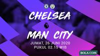 Premier League - Chelsea Vs Manchester City (Bola.com/Adreanus Titus)