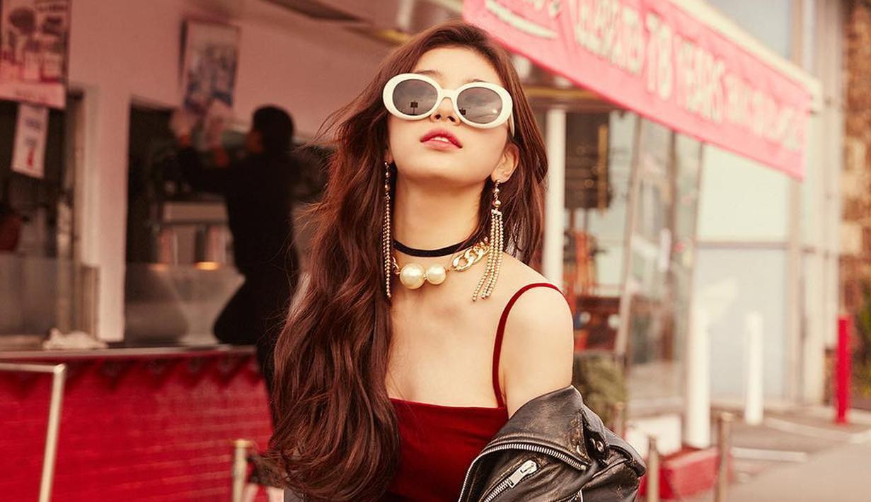 Selain terjun di dunia tarik suara, Suzy juga mencobaa peruntungannya di dunia akting. Ia tercatat sudah membintangi delapan judul drama. (Foto: instagram.com/skuukzky)