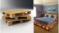 10 ide kreatif perabotan dari palet kayu bekas