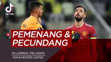 Berita video TikTok Bola.com tentang pemenang dan pecundang laga Villarreal melawan Manchester United.