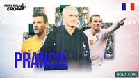 Piala Eropa 2020 - Profil Tim Prancis (Bola.com/Adreanus Titus)
