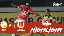 Laga lanjutan #ShopeeLiga1, #PsBaritoPutera vs #Perseru Badak Lampung FC  pada hari Jumat malam (18/10/2019) berakhir  dengan skor...