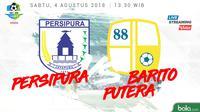 Liga 1 2018 Persipura Jayapura Vs Barito Putera (Bola.com/Adreanus Titus)
