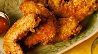 Ayam goreng krispi (dok. Bertolli/Fairuz Fildzah)