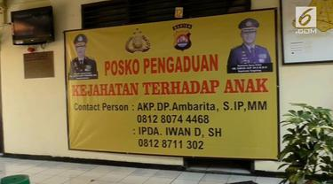 Polres Kota Tangerang Mendirikan Posko pengaduan korban pedofilia di seluruh Polsek jajarannya.