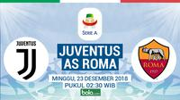 Serie A Juventus Vs AS Roma (Bola.com/Adreanus Titus)