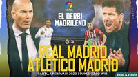 La Liga - Real Madrid Vs Atletico Madrid - Head to Head (Bola.com/Adreanus Titus)