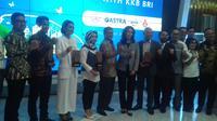 PT Bank Rakyat Indonesia meluncurkan program kredit kepemilikan kendaraan bermotor (KKB) untuk kendaraan listrik. Liputan6.com/Athika