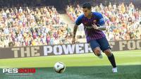 Cover Pro Evolution Soccer (PES) 2019. (dok. konami)