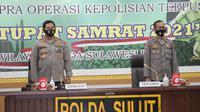 Kapolda Sulut Irjen Pol Nana Sudjana membuka kegiatan latihan pra operasi di Markas Polda Sulut.
