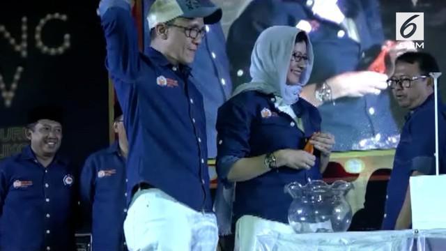 Nurul Arifin mendapatkan nomor urut 1 untuk calon Wali Kota Bandung.